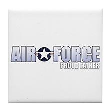 USAF Father Tile Coaster