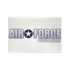 USAF Father Rectangle Magnet