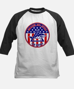 Gracie Red, White and Blue GE Kids Baseball Jersey