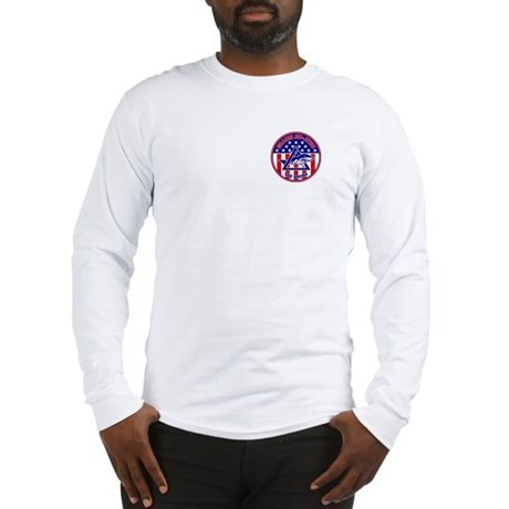 Gracie Red, White and Blue GE Long Sleeve T-Shirt