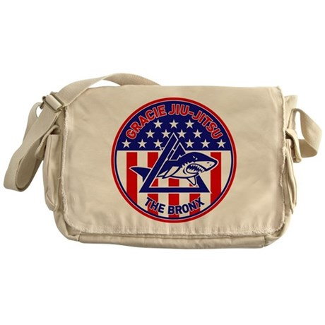 Gracie Red, White and Blue GE Messenger Bag