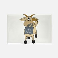 Funny Goats - Totes MaGoats Rectangle Magnet