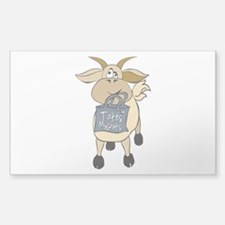 Funny Goats - Totes MaGoats Decal