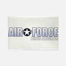 USAF Daughter Rectangle Magnet