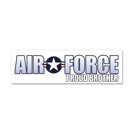 USAF Brother Car Magnet 10 x 3