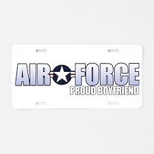 USAF Boyfriend Aluminum License Plate
