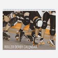 Roller Derby Wall Calendar