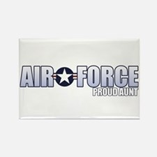 USAF Aunt Rectangle Magnet