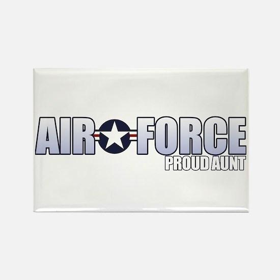 USAF Aunt Rectangle Magnet