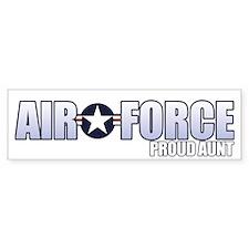 USAF Aunt Bumper Sticker