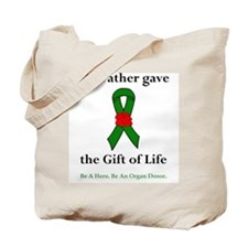 Father Donor Tote Bag