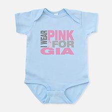I wear pink for Gia Infant Bodysuit