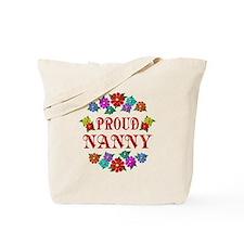 Proud Nanny Tote Bag