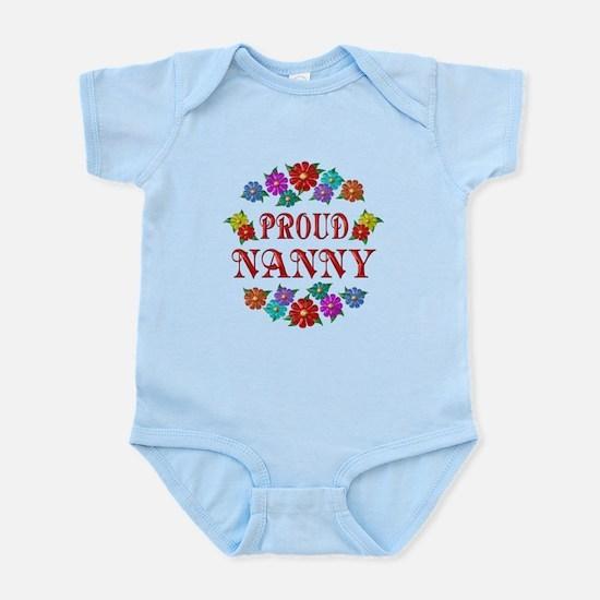 Proud Nanny Infant Bodysuit