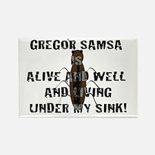 Gregor Samsa Rectangle Magnet