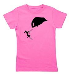 LADYBUG IN BLACK T-Shirt