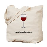 Book reading Canvas Bags