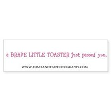 toaster passing you Bumper Bumper Sticker