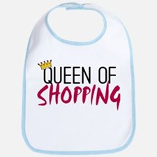 'Queen of Shopping' Bib