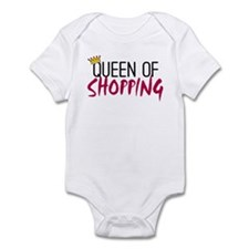 'Queen of Shopping' Infant Bodysuit