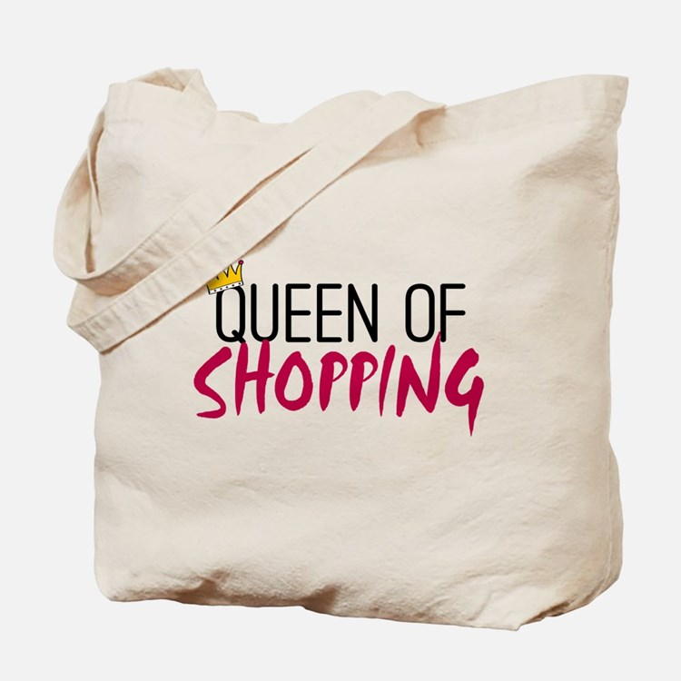 'Queen of Shopping' Tote Bag