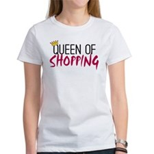 'Queen of Shopping' Tee