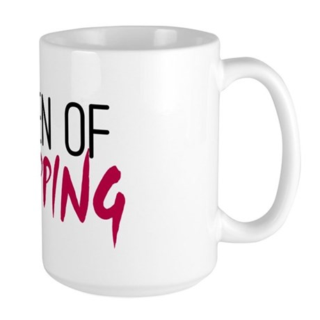 'Queen of Shopping' Large Mug