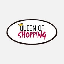 'Queen of Shopping' Patches