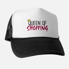 'Queen of Shopping' Trucker Hat