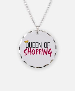 'Queen of Shopping' Necklace
