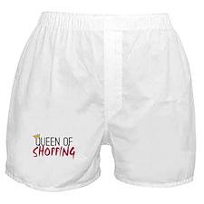 'Queen of Shopping' Boxer Shorts