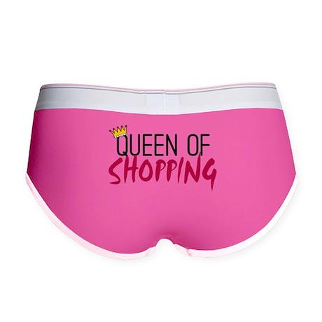 'Queen of Shopping' Women's Boy Brief