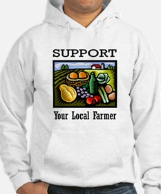 Support Your Local Farmer Jumper Hoody