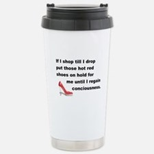 Shop Till I Drop Travel Mug