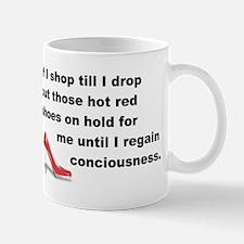 Shop Till I Drop Mug