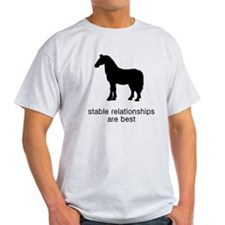 Stable Relationships Are Best T-Shirt
