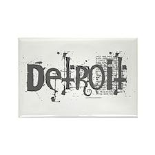 DETROIT CS Rectangle Magnet