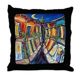 New orleans Throw Pillows