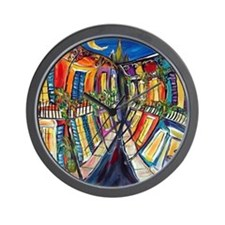 Big Easy French Quarter Wall Clock