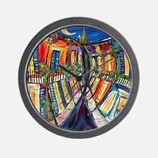 Big Easy French Quarter Wall Clock