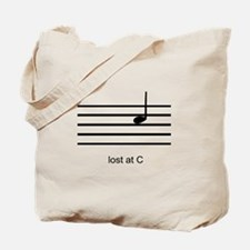 Lost At C Tote Bag