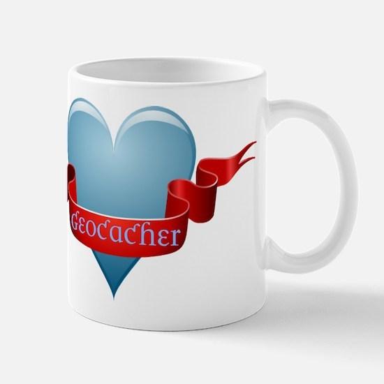 Geocacher Ribbon Mug