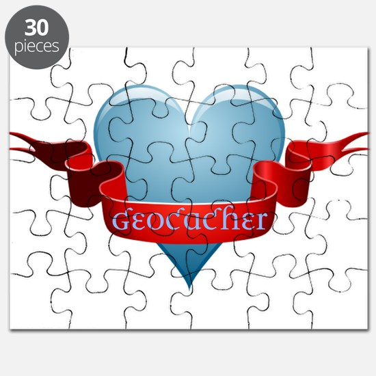 Geocacher Ribbon Puzzle