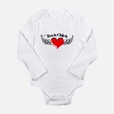 Rock Chick Long Sleeve Infant Bodysuit