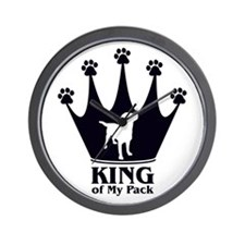 King of My Pack Wall Clock