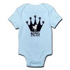 King of My Pack Infant Bodysuit