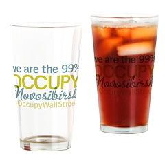 Occupy Novosibirsk Drinking Glass
