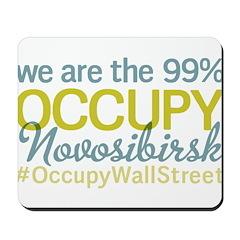 Occupy Novosibirsk Mousepad