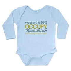 Occupy Novosibirsk Long Sleeve Infant Bodysuit