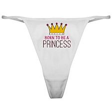 'Born Princess' Classic Thong